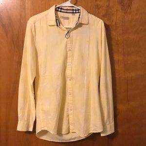 Burberry Brit long sleeve button up shirt